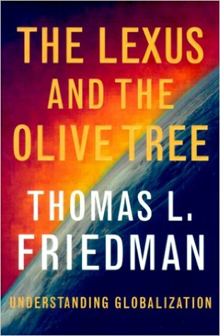 a book analysis of lexus and the olive tree by thomas friedman Complete summary of thomas l friedman's the lexus and the olive tree enotes plot summaries cover all the significant action of the lexus and the olive tree.
