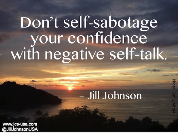 Don't Self-Sabotage