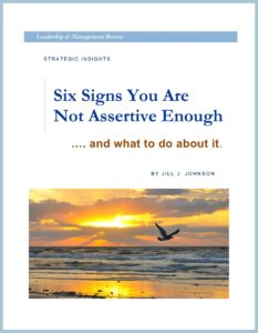 WHITE PAPER - 6 Signs You are not Assertive Enough - COVER - FRAMED