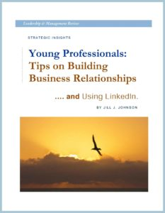 WHITE PAPER - Building Business Relationships - Young Professional - COVER - FRAMED